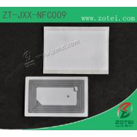NFC Sticker tag,13.56MHzEtch aluminum antenna, oneside is self-adhensive sticker Manufactures