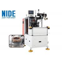 Double End Stator Lacing Machine / Coil Lacing Machine AC Electric Motor Manufactures