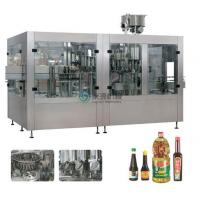 Rotary Piston Type vegetable oil filling machine Auto 3000BPH / 1000ml