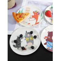 China Customized Printed Melamine Tableware Sets Round Melamine Plates Eco Freindly melamine ware plates on sale