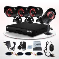 China CCTV DVR Video Surveillance System For Home 600TVL IR 4 Camera CCTV KIT on sale