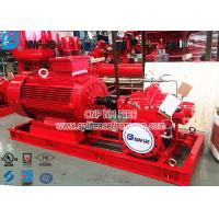 Buy cheap NFPA20 Standard UL listed Electric Motor Driven Fire Pump Set For Fire Fighting Use from wholesalers