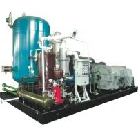 Two Stage Rotary Screw Gas Compressor , Skid Mounted Oil Injected Screw Compressor Manufactures
