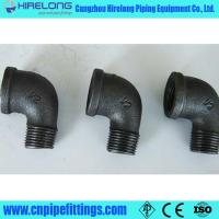 Dimemsion ISO49 Black malleable iron pipe fittings Manufactures