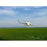 China Low Cost Crop Dusting Helicopter UAV for Agriculture Use Ginger , Rice , Wheat on sale