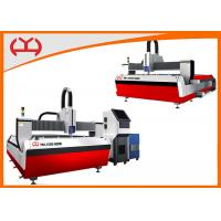 Closed Loop Controller CNC Fiber Laser Cutter , CNC Laser Cutting Machine For Stainless Steel Manufactures