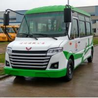 Fashionable Police Station Electric Shuttle Bus Double Circuit Hydraulic Brake System Manufactures