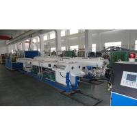 Plastic Electrical Conduit Single Wall Corrugated PVC Pipe Extrusion Machine Single Screw Manufactures