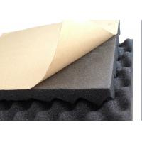 Quality Egg Shape PU Acoustic Insulation Foam For Building Noise Reducing / Soundproof for sale