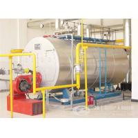 3 ton  gas, oil, dual fuel fired steam boiler Manufactures