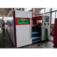 Lower Consumption Fiber Laser Cutting Machine / Sheet Metal CNC Cutting Machine Manufactures