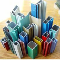 Powder Coated Aluminum Extrusions , Painting Aluminum , 6063 T5/T6 Manufactures