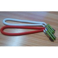 430mm length high quality China facotry price white red coiled lanyard leash dental clips Manufactures