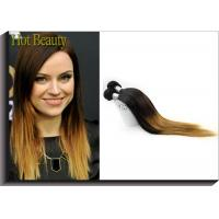 China Silky Straight Ombre Remy Human Hair Extensions With Model Show Wedding Party Meeting wholesale