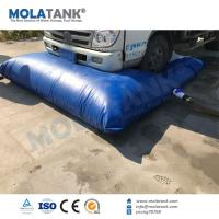China Molatank China New Design Firefighting Rainwater Collection Pillow shape Reservoir storage tank on sale