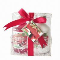 China Cranberry Bath Gift Set, OEM Orders are Welcome  on sale