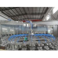 Electric Automatic Bottle Filling Machine / 500 ml Juice Can Filling Line Manufactures