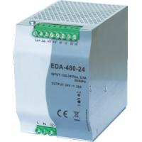 480W Din Rail Switching Power Supply 124mm * 85mm * 128mm Size EDA Series Manufactures