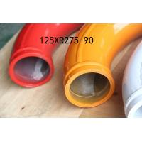 China Twin Wall Concrete Pump Pipe 65HRC For Zoomlion Truck Mounted Boom Pump on sale