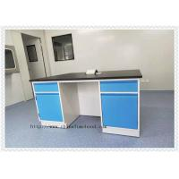 Medical Chemistry Lab Furniture  Epoxy Resin Table Top Customized Size Manufactures