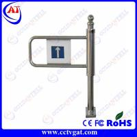 GAT-613 304 SUS manual turnstile,hand push turnstile with lowest cost Manufactures