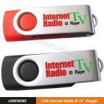 USB Worldwide Internet Radio TV Game Dongle (Model#RT-0037) Manufactures