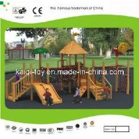 Wooden Series Outdoor Playground Equipment (KQ10155A) Manufactures
