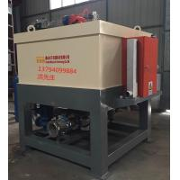 Dry Type Magnetic Drum Separator / Multiple Poles Magnetic Roll Separator Manufactures