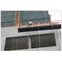 High rise maintenance painting steel ZLP630 suspended platform Manufactures