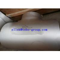 TOBO STEEL Group ASTM A815 WPS32760 reducing tee ASME B16.9   A815 / A815M Standard Manufactures