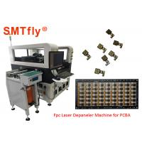 Buy cheap 400mmX300mm PCB Separator Machine 2500mm/S Laser Scanning Speed SMTfly-5L from wholesalers