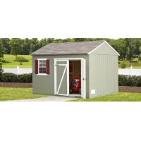 6x4ft metal sheds with flat roof Manufactures