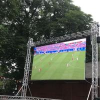 Outdoor 1/8 Scan SMD3535 Stage Curtain Video Wall P6 Display Screen