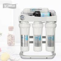 Under Sink 50G Reverse Osmosis Water Purifier With 5L Tank Water Dispenser Manufactures