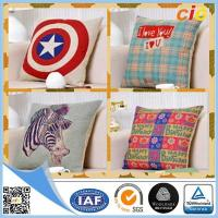 China Washable  Home Textile Products Canvas Sofa Cushion Pillow / Car Seat Cushion Cover on sale
