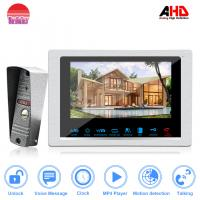 Phone unlocked Video door bell AHD960P Video Door Phone , professional intercom system Manufactures