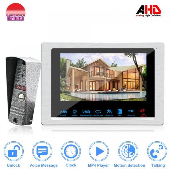 Quality Morningtech doorbell with IR cut 1.3MP camera amzing intercom system for villa housing for sale