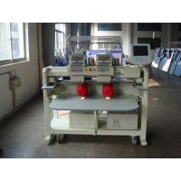 12 Needle Double Head Embroidery Machine For Hats / Bags / Pants Manufactures