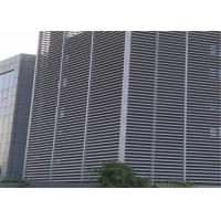 Horizontal Vertical Install Aluminium Sun Shades For Office / Hotel Manufactures