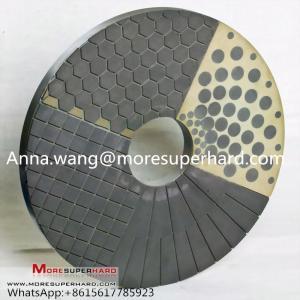 China CBN Diamond Double Disc Grinding Wheel,double disc grinding,vitrified bond grinding disc Anna.wang@moresuperhard.com on sale