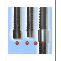 Quality Parallel thread rebar coupler Upset forging rebar coupler Cold stamping rebar for sale