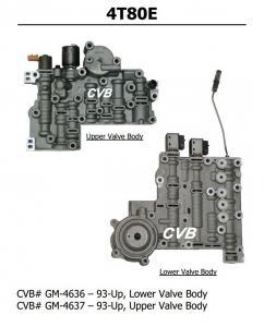 Auto Transmission 4T80E sdenoid valve body good quality used original parts Manufactures