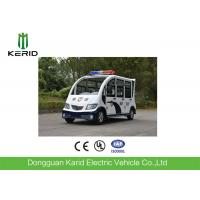 Enclosed Body Electric Patrol Car With 48V AC Motor Free Maintenance Battery Manufactures