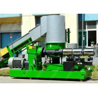 Washed Recycled PP PE Film Plastic Pelletizing Equipment With Vacuum Exhaust System Manufactures