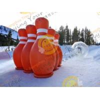 3.6m Big Inflatable Sport Balloons , UV Protected Printing Outdoor Inflatable Bowling Manufactures