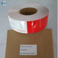 Prismatic Reflective Trailer Tape Conspicuity Red White emergency Vehicle DOT Approved Manufactures
