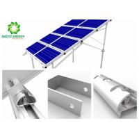 Flexibly Solar Mounting System PV Energy Solar Panel Brackets All Aluminum Design Excellent Compatibility Manufactures