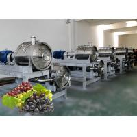 China Industrial Grape Juice Processing Line Beverage Making Machine Energy Saving on sale