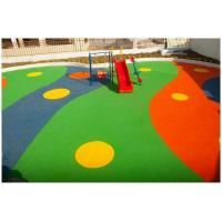 Colored EPDM Rubber Granules Flooring UV Resistance ISO Approved Manufactures
