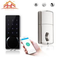 Quality Customized High Standard Bluetooth Smart Door Lock With Wireless Touch Screen for sale